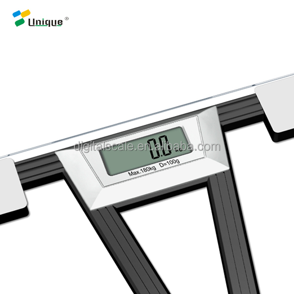Digital human commercial envelope metal aluminium water-proof floor balance platform electronic compact nutrition balance scale