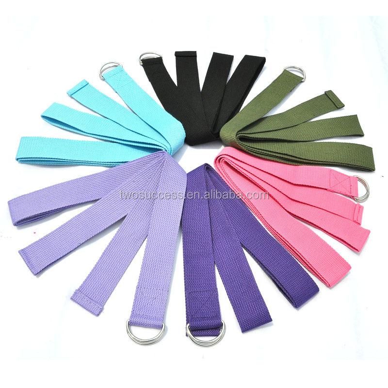 Eco-friendly elastic Strech soft cotton yoga resistance band