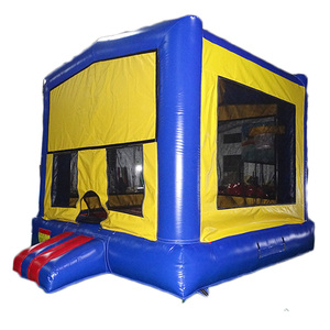 Different Themed Inflatable Bounce House Inflatable Bouncer With Detachable Banner