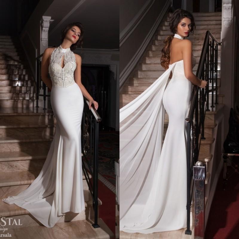 Hairstyle For Halter Neck Wedding Dress: Popular High Neck Halter Wedding Dress-Buy Cheap High Neck