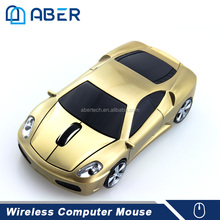 Promotional Gift 2.4Ghz Custom Logo Car Shape Wireless Mouse