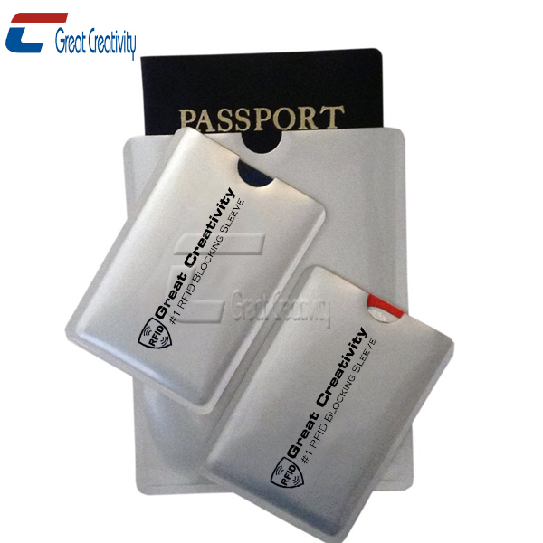 RFID Blocking Credit Master Cards ID Card Sleeves with Passport Holders Debit