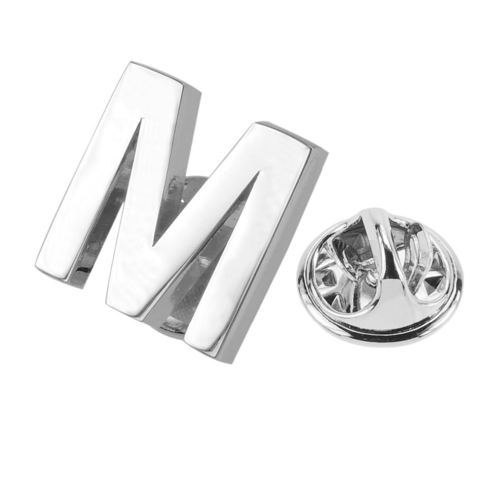 Aformen bulk letter alphabet lapel pin buy alphabet for Bulk letters