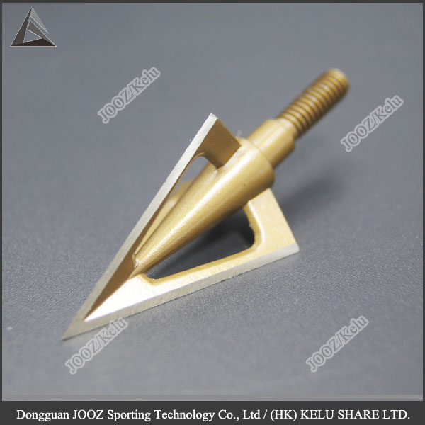 100 <strong>grains</strong> 3 Blades Broadhead Archery Screw-In Arrow Heads Points