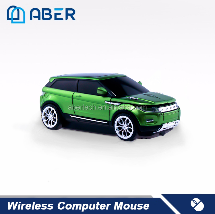 Wholesale Factory Optical Mouse 2.4 ghz Wireless Mouse Car Shape Computer Mouse