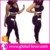 Women sexy two pieces skin tight yoga fitness soprtswear wholesale sports apparel