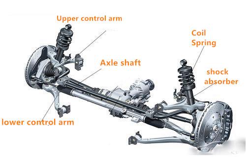 Sistema di sospensione Per Honda FA1 339162 Ammortizzatore Per Honda Civic Per Honda Civic Ammortizzatore