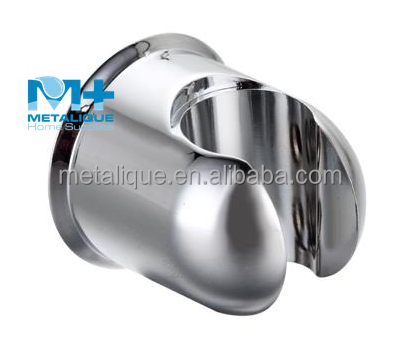 OEM/ODM Ningbo Manufacture Cheap In Stock Bathroom ABS Plastic Chrome Wall Bracket Shower Head Holder