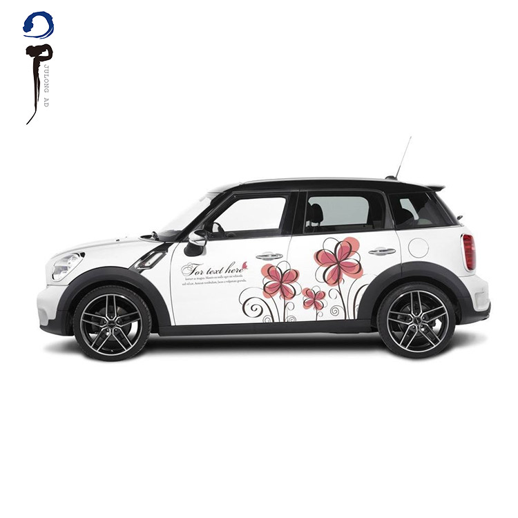 Custom design advertising removable car body or window decals stickers