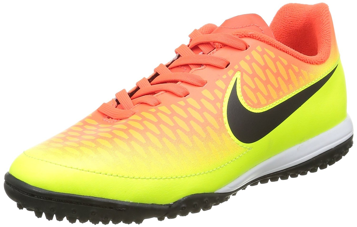 Get Quotations · Nike Junior Youth Turf Soccer Shoes Magista Onda FG Crimson  Volt 651657 807 (6) 436d23215aa11