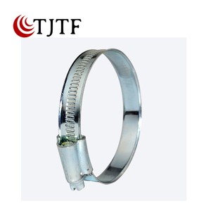 High Strength 11.7mm Bandwidth British Type Hose Clamp For Fire Water Bag
