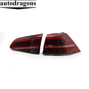 Hot Car Styling for VW Golf 7 MK7 Golf 7 Design LED TAIL Lights All LED Rear Lamp dynamic turn signal