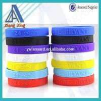 Cheapest price custom christian silicone bracelet China wholesale