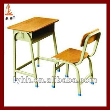 2012 American Kids Single Metal Modern School Desk And Chair - Buy ...
