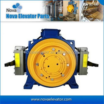 630kgs 2 1 1m S Electric Motor For Elevator Traction