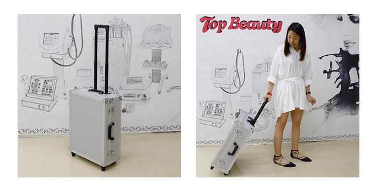 Top Schönheit 8 patronen 3d hifu anti falten maschine