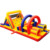 High quality crazy giant adult inflatable land obstacle course for sale