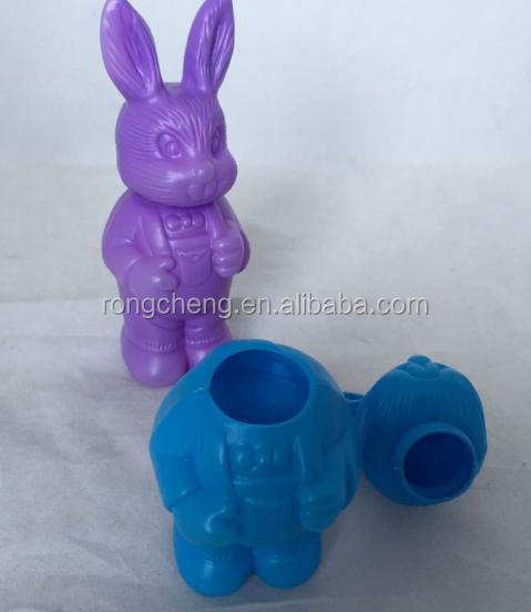 plastic Easter bunny decoration candy box