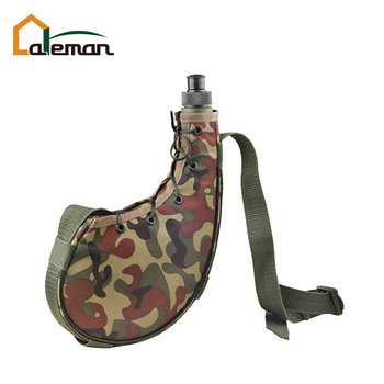 750ml Camouflage Wine Bota Bag Spanish Skin With Shoulder Strap Oem Orders Accepted Wineskin