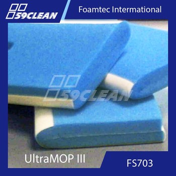 Foamtec FS703 Cleanroom Wall Mop Head