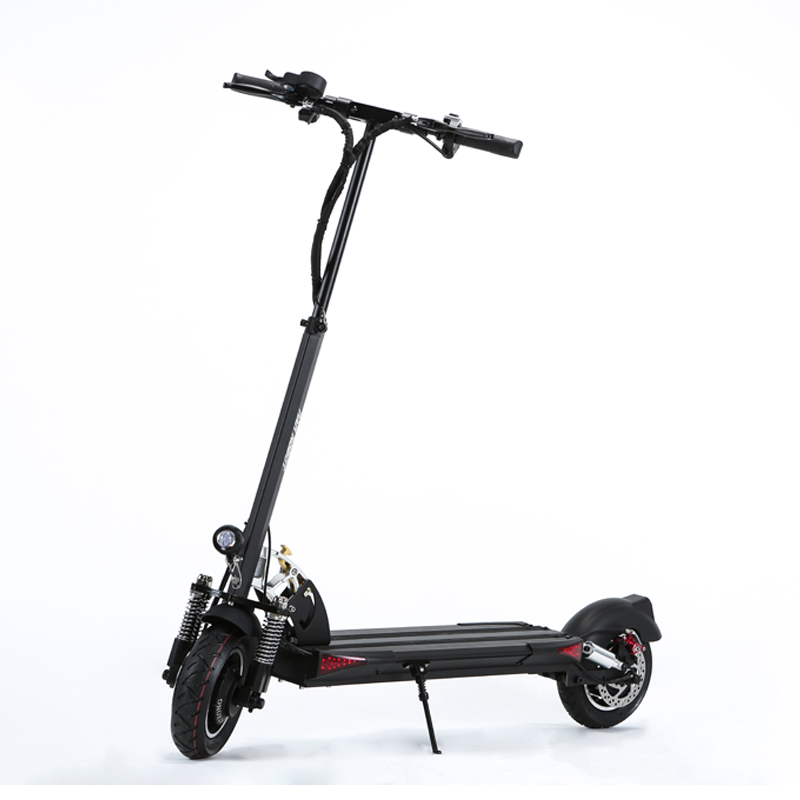 Factory price NANROBOT D5+2.0 dual 1000w 52V23.4A 10inch two wheel city road electric scooter foldable scooter with seat, N/a