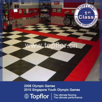 Linoleum Deck Floor Surface Covered Anti Static Rubber