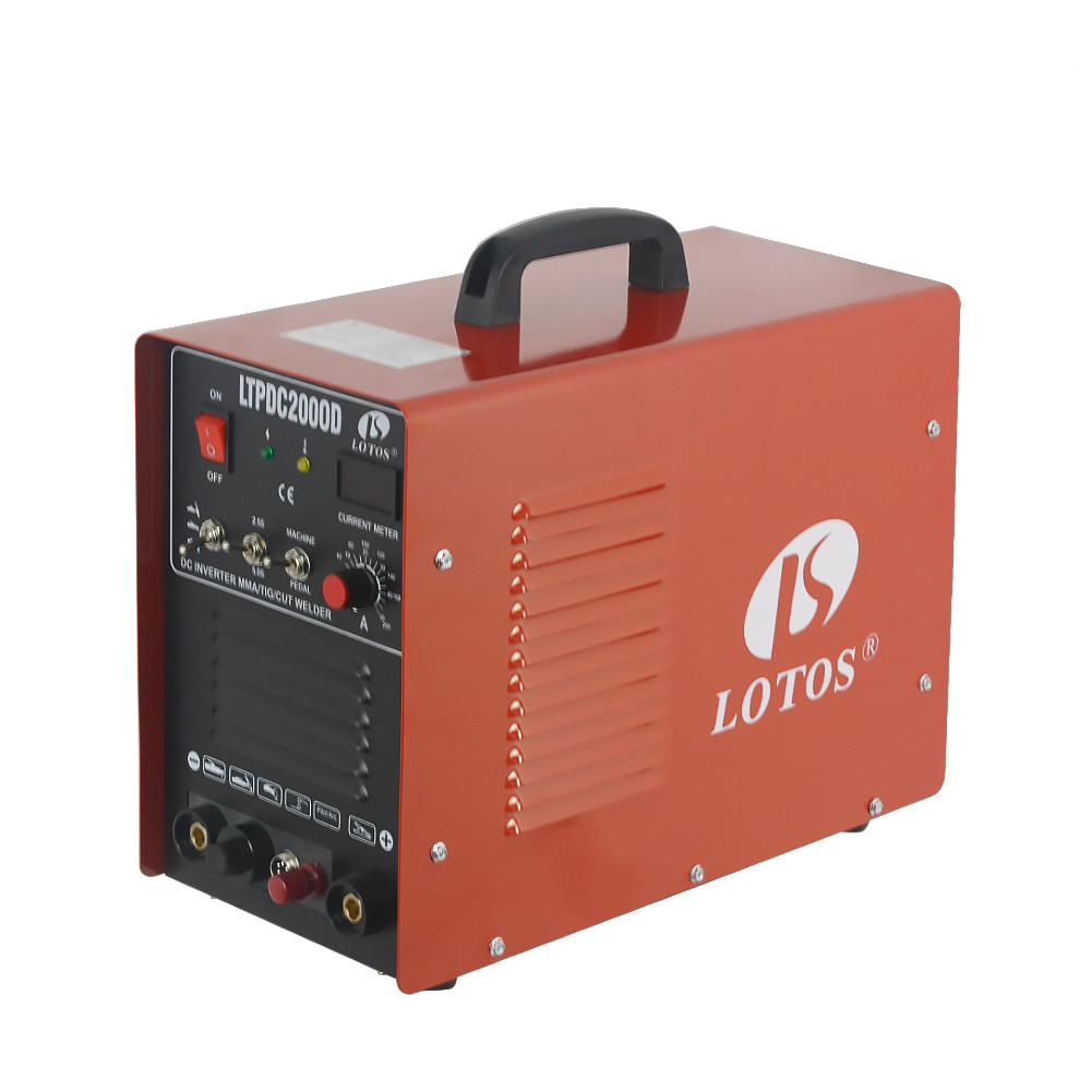 Lotos LTPDC2000D CUT MMA TIG 3 in1 Chinese factory plasma <strong>welding</strong>