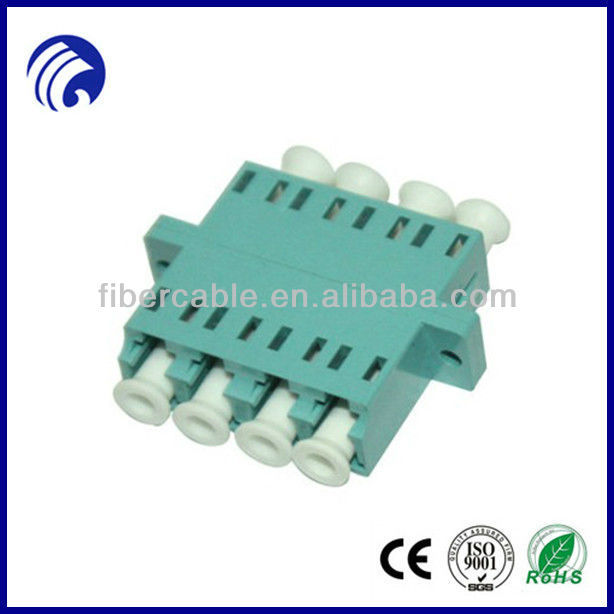 Supply OM3 Quad Fiber Optic Hybrid Adapters