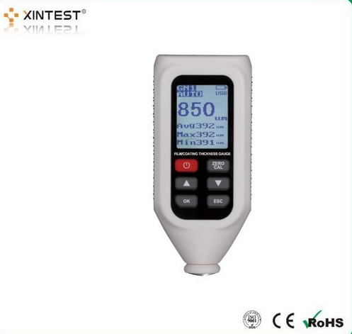 Portable Digital Paint Thickness Gauge HT-128 Coating Thickness Meter Analysis