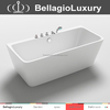 customized freestanding acrylic tub 1500mm, 1700mm freestanding bathtub