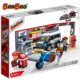 2019 New BanBao 8630 Vehicle Maintenance Scene Educational Legoing Molds Plastic Building Block Diy Toy For Kids