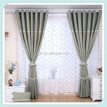 2016 Latest Design Fancy Window Curtains European Style Hotel Blackout Office Ward