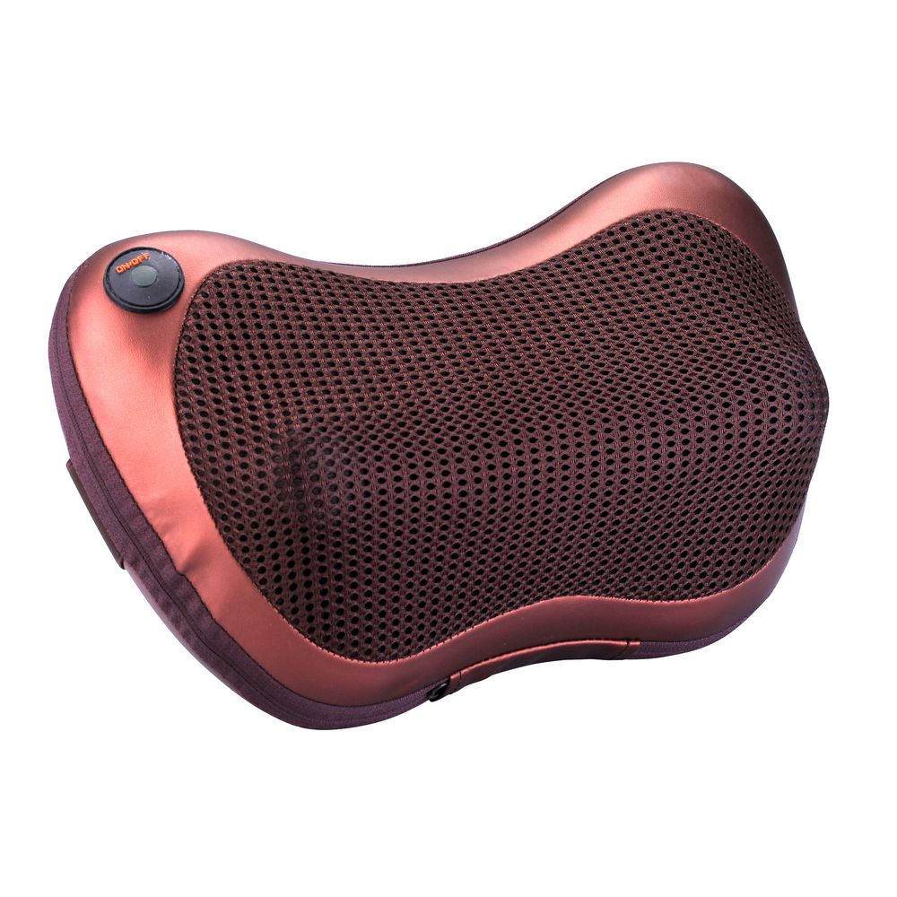 Shiatsu Massager with 8 Heated Rollers,Massage Pillow To Relieve <strong>Shoulder</strong>/ Foot Pain