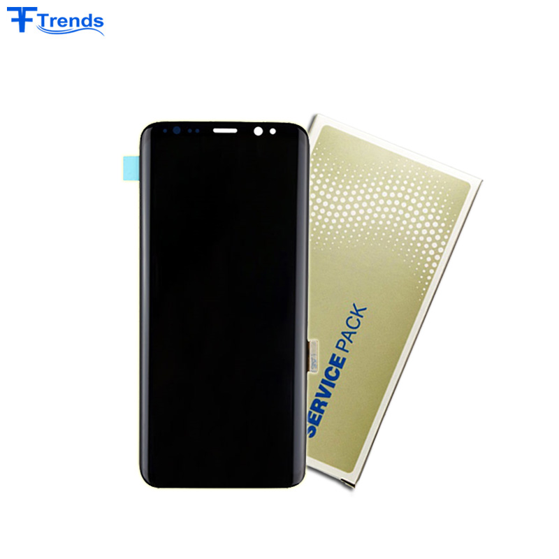 Original for Samsung Galaxy S8 LCD Screen Service Pack G950F G950A G950P G950V G950T G950R Display фото