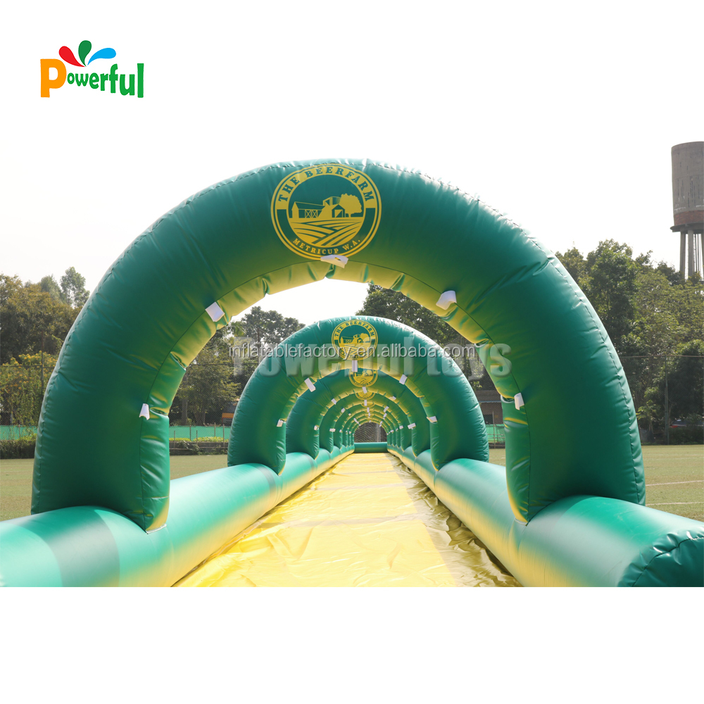 100m water slip n slide for sales