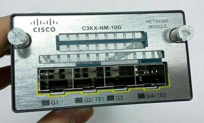 Cisco C3KX-NM-10G hot sale NEW and USED wan interface card
