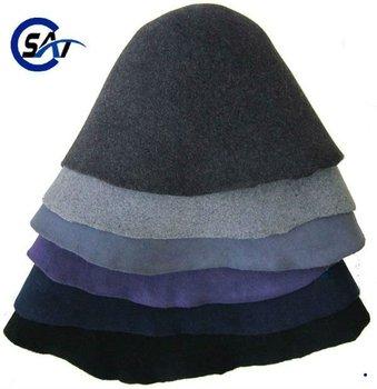 3c2393f237c25 De calidad superior 100% fieltro de lana sombrero capucha sombrero de lana  de los órganos