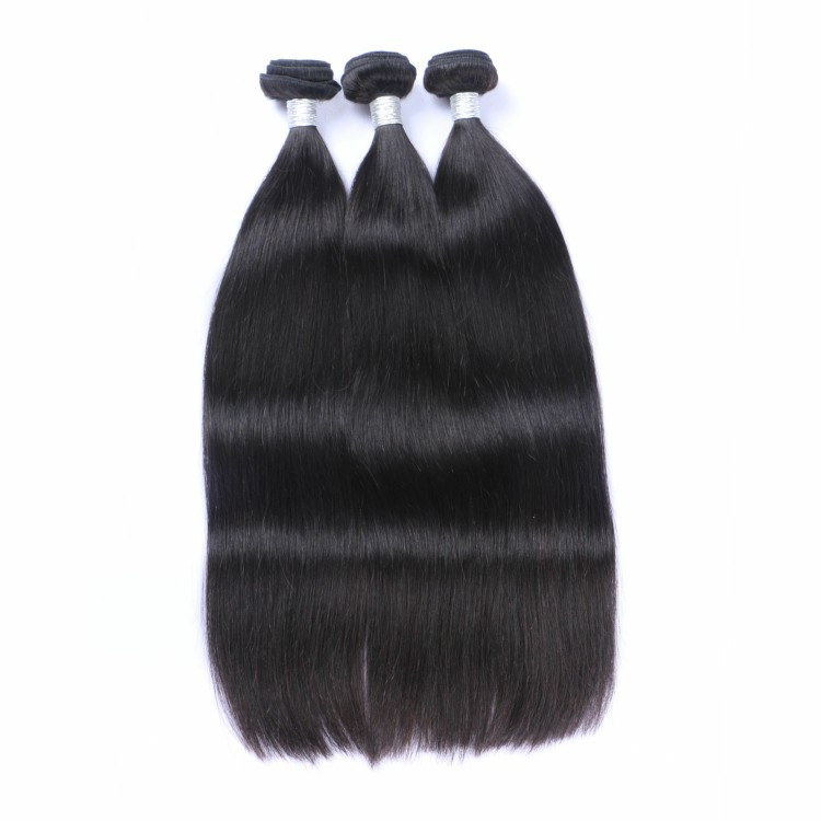Factory price double weft brazilian mink hair 100% human hair bundles фото