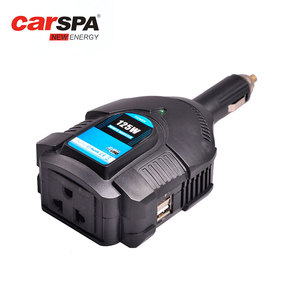 125w CE RoHS hot selling dc 12v 24v to ac 110v 120v 220v 230v 240v cigar lighter plug car mini power inverter with usb