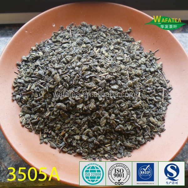 new haversted hot sell factory price green tea 3505A to Morocco from Shaoxing