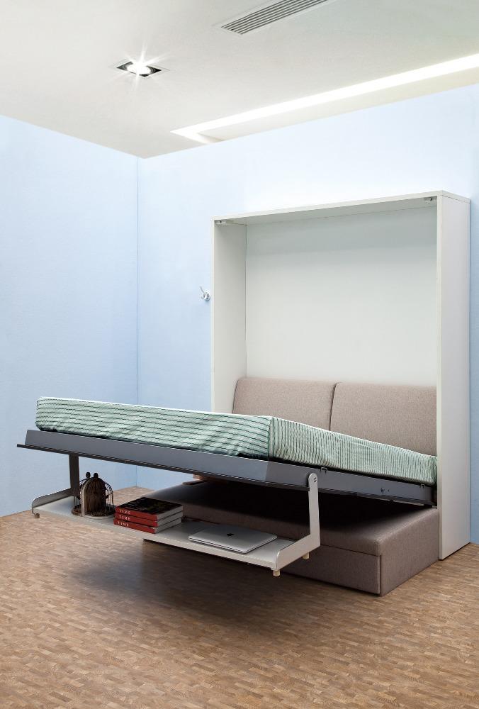 Finden Sie Hohe Qualität Klappbett Mit Sofa Und Bücherregal ...
