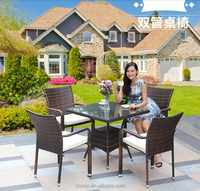 Outdoor woven PE rattan tables and chairs Tables and chairs Z353