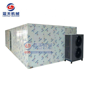 Pepper dehydrator room and dryer machine for potato chips