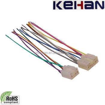 car wiring harness plug oem odm professional high quality car stereo radio wire harness  car stereo radio wire harness