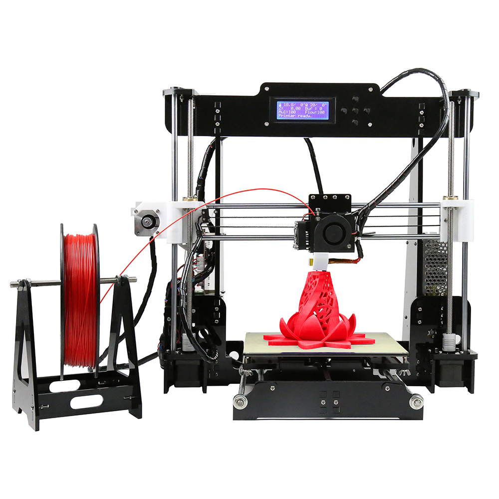 2017 Hot Sell Anet A8 3D <strong>Printer</strong> Machine Filament FDM 3D <strong>Printer</strong> Machine DIY <strong>Printer</strong> 3D With Large Printing Size