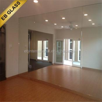 Gym dansstudio spiegel aangepaste spiegelwand eb glas buy product on - Espejos para gimnasios ...