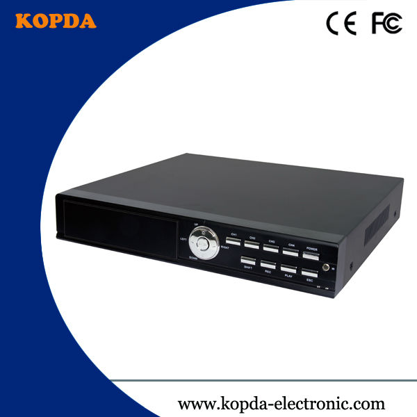 china manufacturer,Economy DVR 4ch,H.264,one touch on line,cloud technology,Support HDD Max. 4TB
