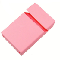 Wholesale Custom Printing Soft Silicone Cigarette Box Cover Silicone Case Cigarette