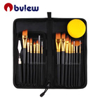 15 pcs Artist Painting Brushes Set Professional Art Paint Brush For Painter Artist Painting