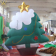 Outdoor large inflatable Christmas tree ornaments